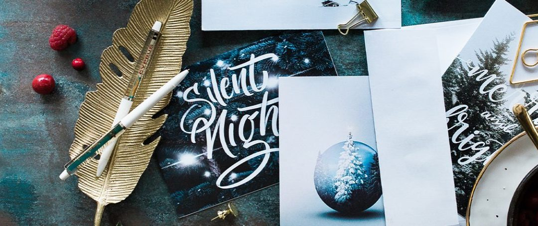 Why I still print Christmas Cards…